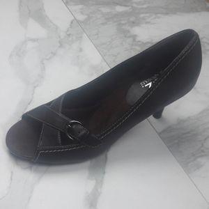 Aerosoles Brown Leather Heels